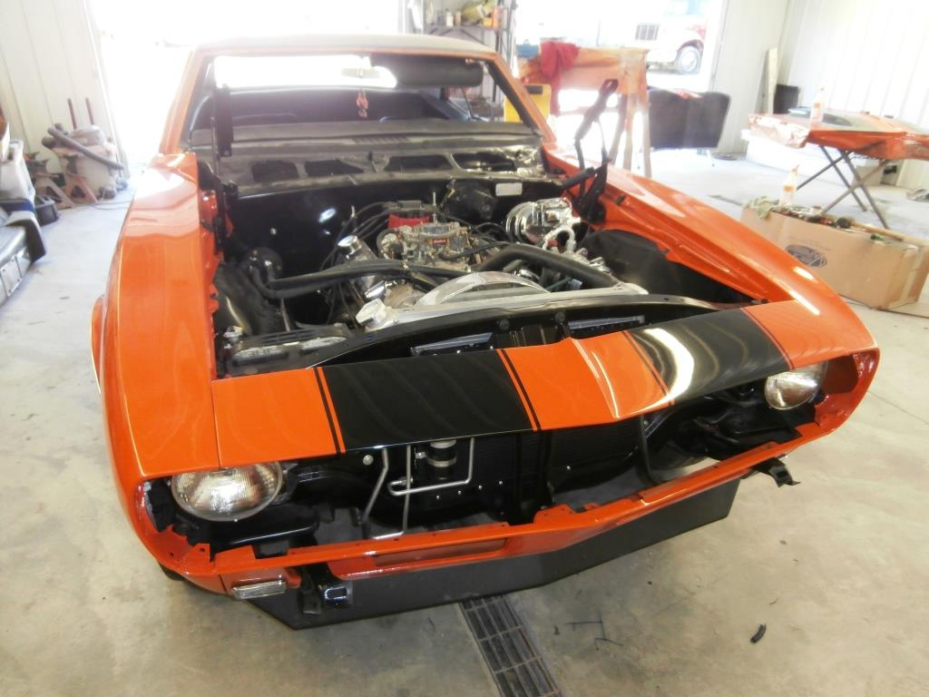 Seales Restoration 1968 Camaro Orange
